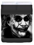 Heath Ledger Joker Duvet Cover