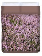 Heather Background Duvet Cover