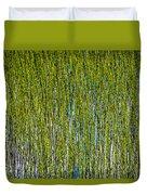 Heather Lake Grass Duvet Cover