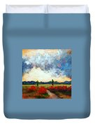 Heaven And Earth Duvet Cover