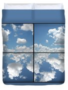 Heaven Duvet Cover by James W Johnson