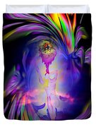 Heavenly Apparition Duvet Cover