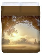 Heavenly Arch Sunrise Duvet Cover