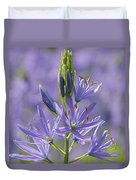 Heavenly Blue Camassia Duvet Cover