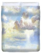 Heavenly Clouded Beautiful Sky Duvet Cover