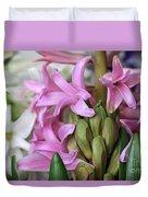 Heavenly Hyacinths Duvet Cover