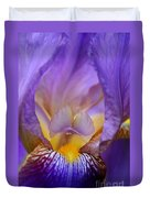 Heavenly Iris Duvet Cover