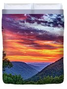 Heaven's Gate - West Virginia 2 Duvet Cover