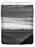 Heaven's Gate - West Virginia Bw Duvet Cover