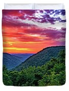 Heaven's Gate - West Virginia - Paint Duvet Cover