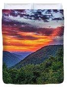 Heaven's Gate - West Virginia Duvet Cover