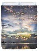 Heaven's Light - Coyaba, Ironshore Duvet Cover