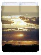 Heaven's Rays 2 Duvet Cover