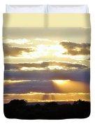 Heaven's Rays Duvet Cover