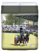 Heavy Horses Competition Duvet Cover