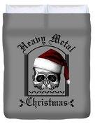 Heavy Metal Christmas Duvet Cover