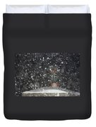 Heavy Snow Duvet Cover