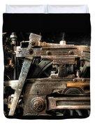 Heavy Wheel Duvet Cover