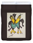 Heckle And Jeckle Duvet Cover