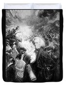 Hector Berlioz, French Composer Duvet Cover