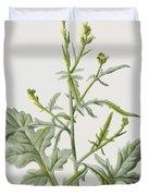 Hedge Mustard Duvet Cover