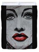 Hedy Lamarr Duvet Cover