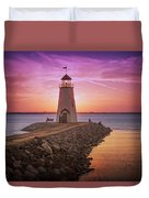 Hefner Lighthouse Duvet Cover