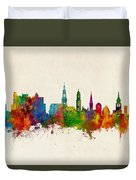 Heidelberg Germany Skyline Duvet Cover