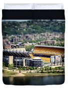 Heinz Field Pittsburgh Steelers Duvet Cover