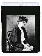 Helen Keller (1880-1968) Duvet Cover