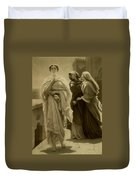 Helen Of Troy Duvet Cover by Frederic Leighton