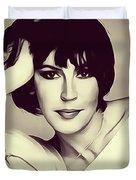 Helen Reddy, Singer Duvet Cover