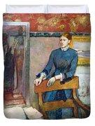 Helene Rouart Duvet Cover by Edgar Degas