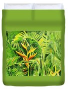 Heliconia 8 Duvet Cover
