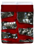 Heliconia Flowering Plant Duvet Cover