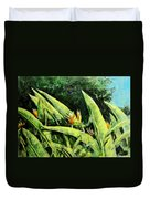 Heliconia Flowers 6 Duvet Cover