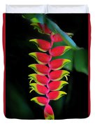 Heliconia Lobster Claw Duvet Cover