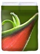 Heliconia Orthotricha Duvet Cover