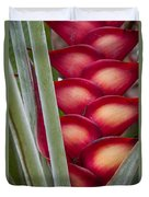 Heliconia Duvet Cover