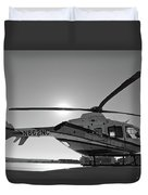 Helicopter Duvet Cover