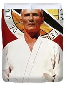 Helio Gracie - Famed Brazilian Jiu-jitsu Grandmaster Duvet Cover