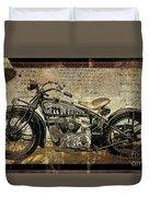Hell On Wheels Duvet Cover