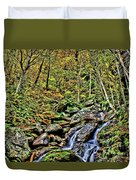 Hellbrook Cascades In Autumn Duvet Cover