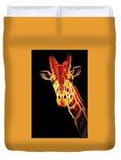 Hello Giraffe Duvet Cover
