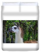 Hello Llama Duvet Cover