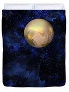 Hello Pluto Duvet Cover
