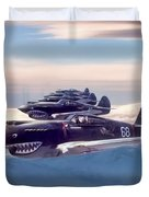 Hell's Angels Duvet Cover