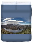 Hells Canyon Panoramic Duvet Cover