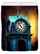 Hells Timeclock Duvet Cover