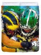 Helmet To Helmet Duvet Cover